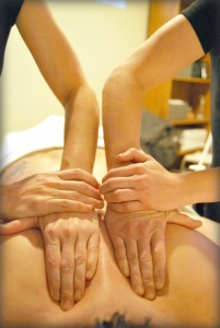 Massage à quatre mains